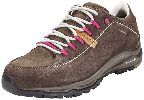 Nemes Suede Low GTX Shoes Women Brown/Magenta Größe 39,5 2016 Schuhe Aku